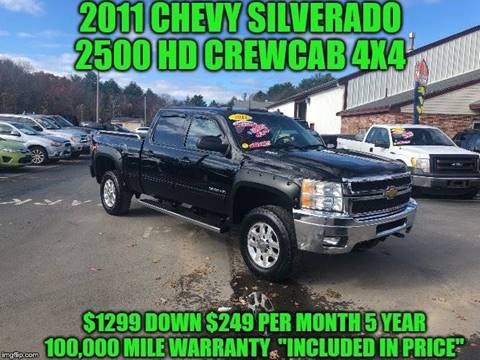 2011 Chevrolet Silverado 2500HD for sale in Rowley, MA
