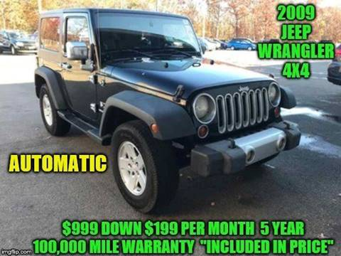 2009 Jeep Wrangler for sale in Rowley, MA