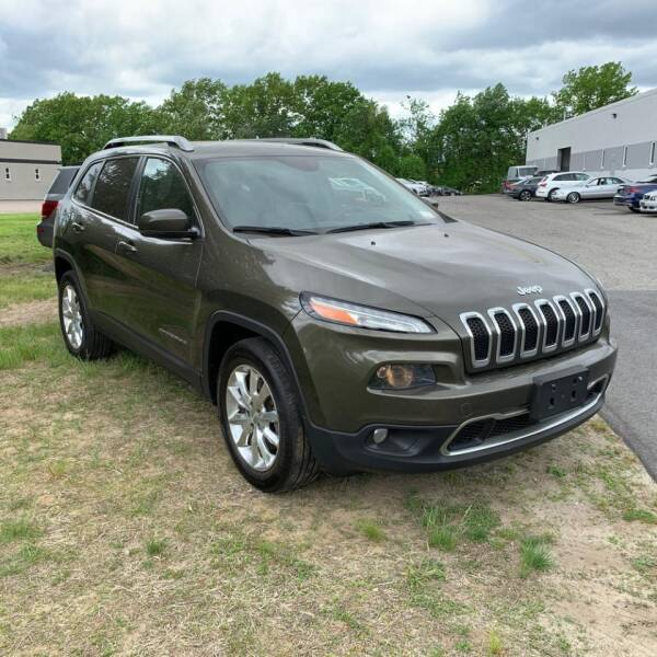 2015 Jeep Cherokee 4x4 Limited 4dr SUV - Rowley MA