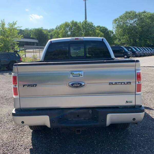 2010 Ford F-150 4x4 Platinum 4dr SuperCrew Styleside 5.5 ft. SB - Rowley MA