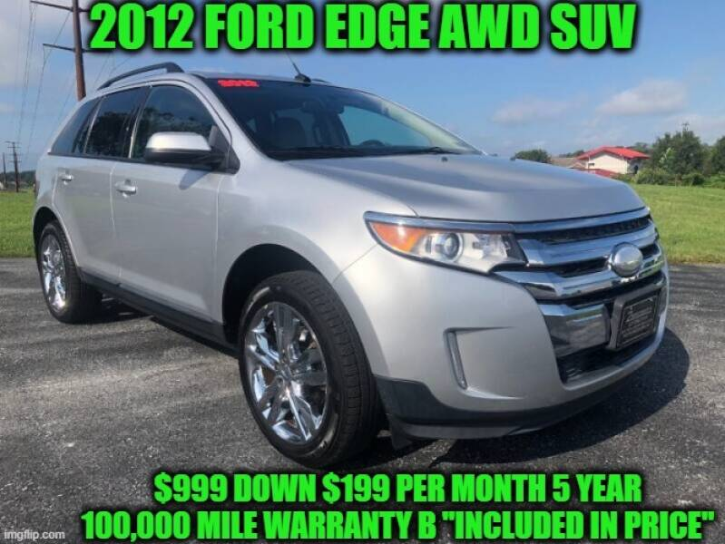 2012 Ford Edge AWD SEL 4dr Crossover - Rowley MA