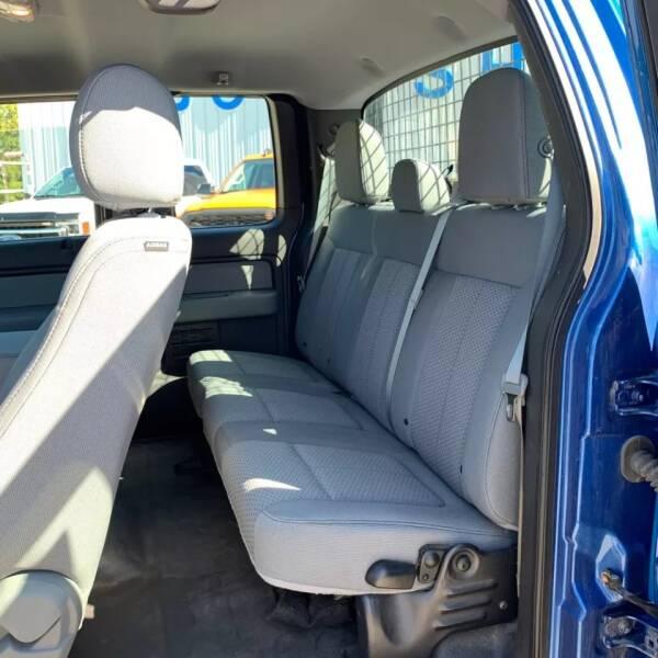 2013 Ford F-150 4x4 XLT 4dr SuperCab Styleside 6.5 ft. SB - Rowley MA