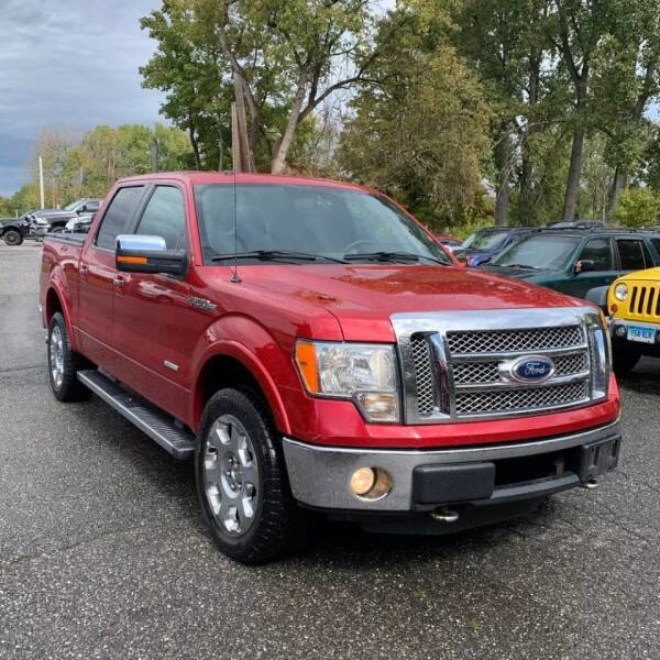 2011 Ford F-150 4x4 Lariat 4dr SuperCrew Styleside 5.5 ft. SB - Rowley MA