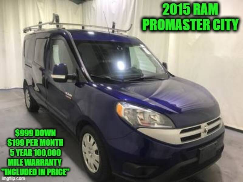 2015 RAM ProMaster City Cargo Tradesman SLT 4dr Cargo Mini Van - Rowley MA