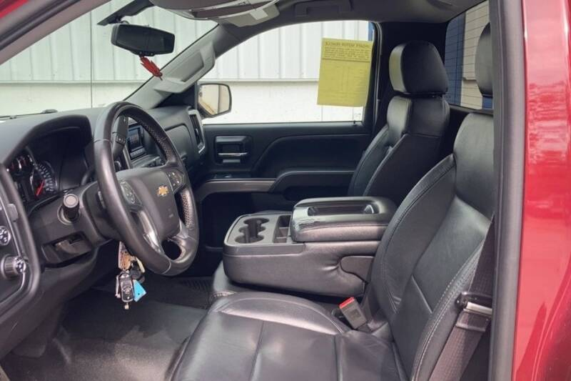 2014 Chevrolet Silverado 1500 4x4 LT 2dr Regular Cab 8 ft. LB - Rowley MA
