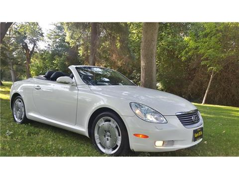 2004 lexus sc 430 for sale in modesto ca. Black Bedroom Furniture Sets. Home Design Ideas
