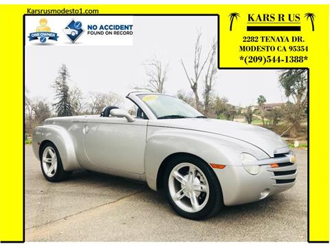 2004 Chevrolet SSR for sale in Modesto, CA