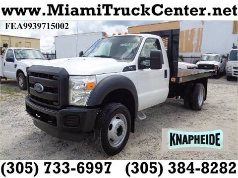2015 Ford F-450 for sale in Hialeah, FL