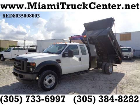 2008 Ford F-450 for sale in Hialeah, FL