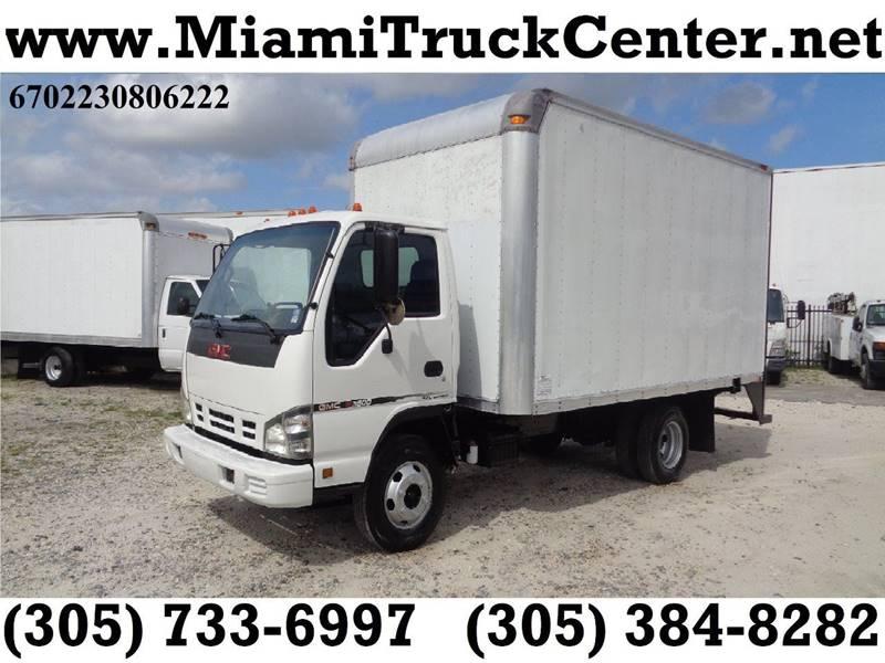 2006 GMC W3500 ISUZU NPR Box Truck DIESEL   Hialeah FL