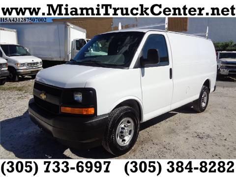 Miami Truck Center >> Cargo Van For Sale In Hialeah Fl Miami Truck Center