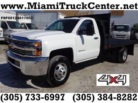 Miami Truck Center >> Flatbed Truck For Sale In Hialeah Fl Miami Truck Center