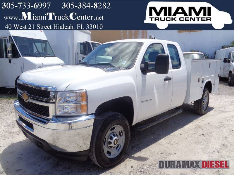 Miami Truck Center >> 2011 Chevrolet Silverado 2500hd 4x4 Knapheide Service Body
