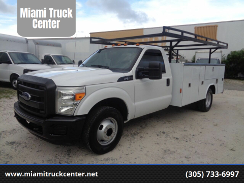 2015 Ford F-350 for sale at Miami Truck Center in Hialeah FL