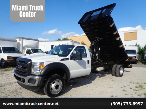 2015 Ford F-550 for sale at Miami Truck Center in Hialeah FL