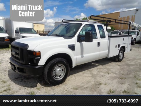 2010 Ford F-250 for sale at Miami Truck Center in Hialeah FL