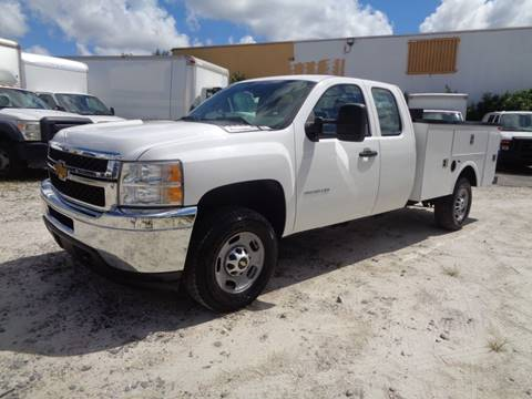 2013 Chevrolet Silverado 2500HD for sale in Hialeah, FL