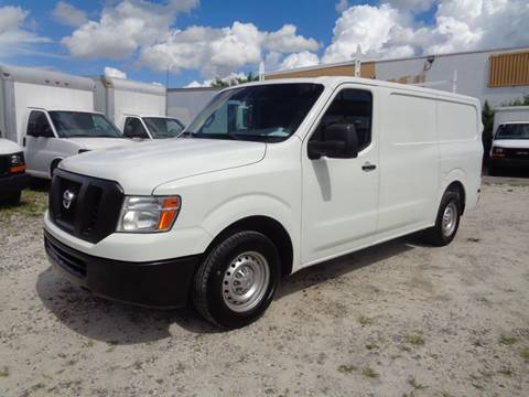 2014 Nissan NV Cargo for sale at Miami Truck Center in Hialeah FL