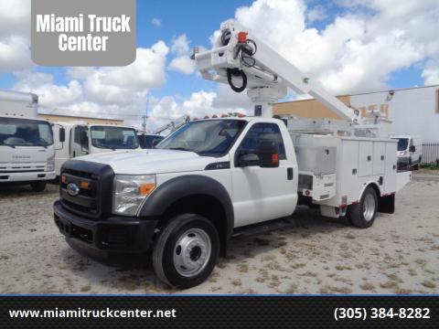 2011 Ford F-550 Super Duty for sale at Miami Truck Center in Hialeah FL