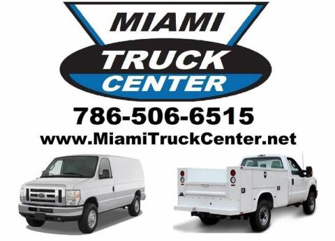 2013 Isuzu NQR for sale at Miami Truck Center in Hialeah FL