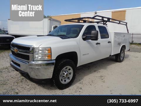 2013 Chevrolet Silverado 3500HD for sale at Miami Truck Center in Hialeah FL
