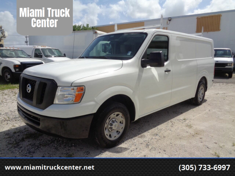 2016 Nissan NV Cargo for sale at Miami Truck Center in Hialeah FL