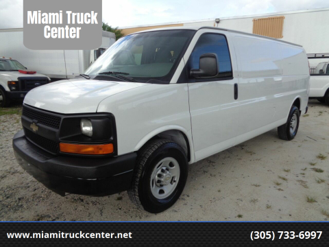 2014 Chevrolet Express Cargo for sale at Miami Truck Center in Hialeah FL