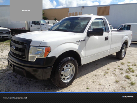 2014 Ford F-150 for sale at Miami Truck Center in Hialeah FL
