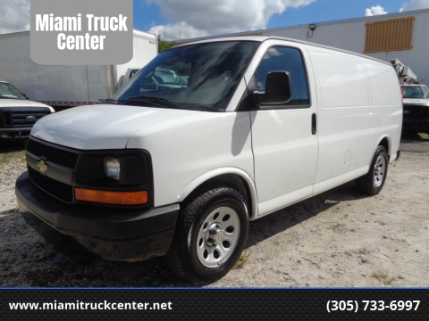 2010 Chevrolet Express Cargo for sale at Miami Truck Center in Hialeah FL