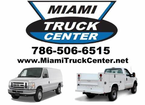 2013 Chevrolet Express Cargo for sale at Miami Truck Center in Hialeah FL