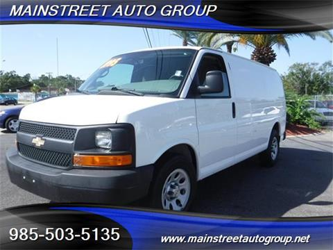 2013 Chevrolet Express Cargo for sale in Slidell, LA