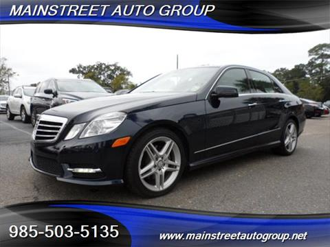 2013 Mercedes-Benz E-Class for sale in Slidell, LA