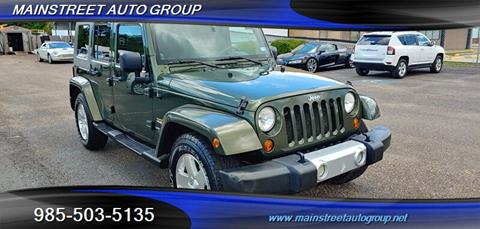 2008 Jeep Wrangler Unlimited for sale in Slidell, LA