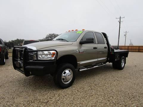 2008 Dodge Ram Pickup 3500 for sale at MCKAIN MOTORS in Valley Mills TX