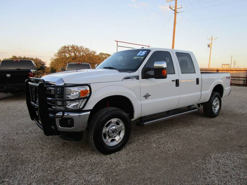 2015 Ford F-250 Super Duty for sale at MCKAIN MOTORS in Valley Mills TX