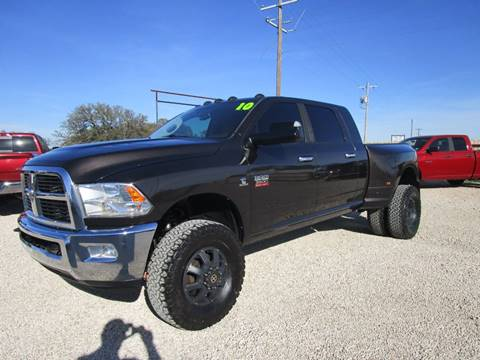 2010 Dodge Ram Pickup 3500 for sale at MCKAIN MOTORS in Valley Mills TX