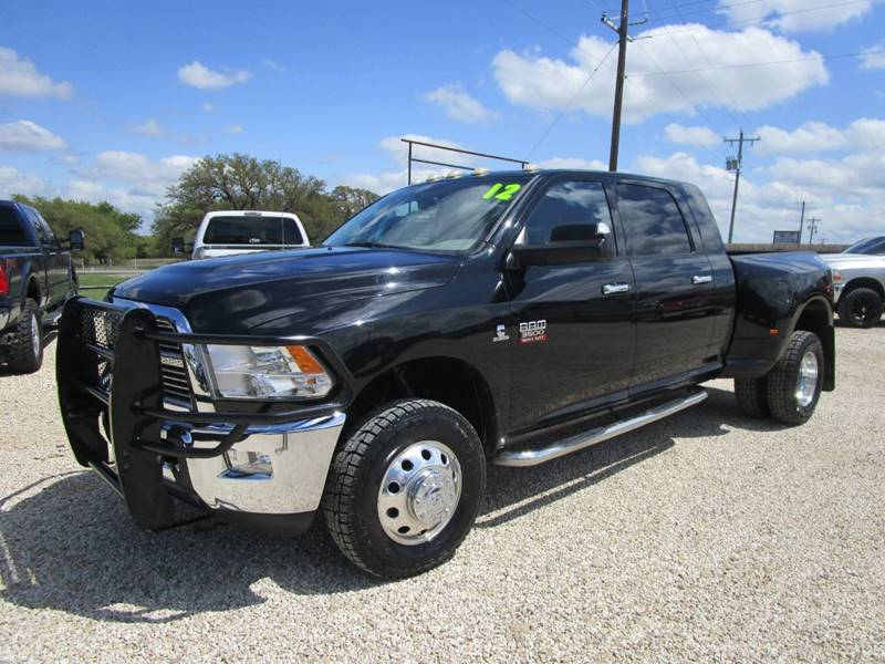 2012 RAM Ram Pickup 3500 for sale at MCKAIN MOTORS in Valley Mills TX