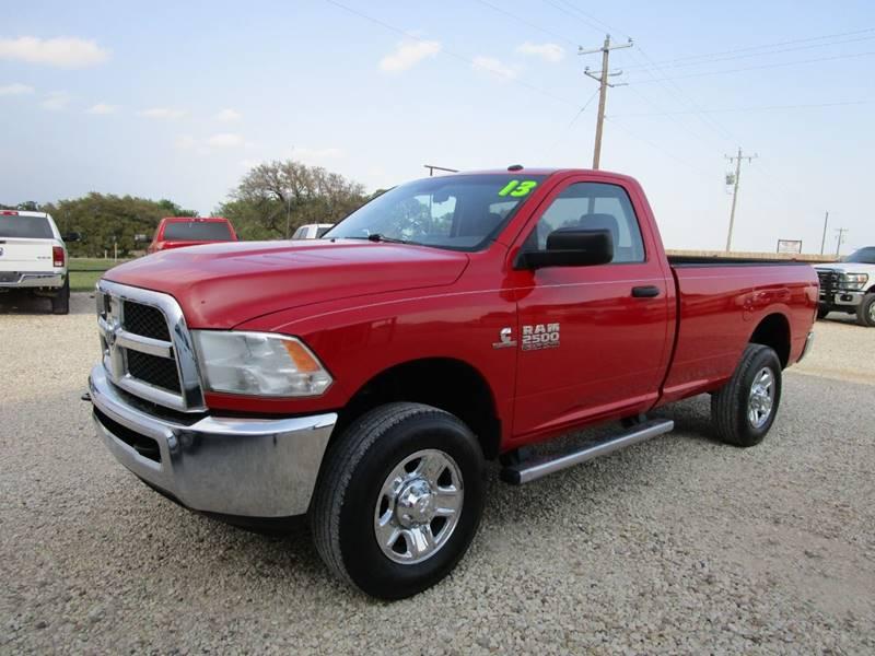 2013 RAM Ram Pickup 2500 for sale at MCKAIN MOTORS in Valley Mills TX