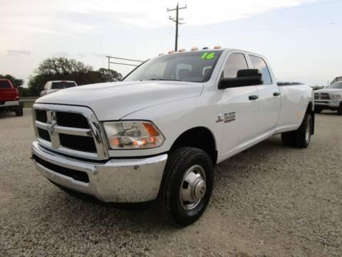 2016 RAM Ram Pickup 3500 for sale at MCKAIN MOTORS in Valley Mills TX