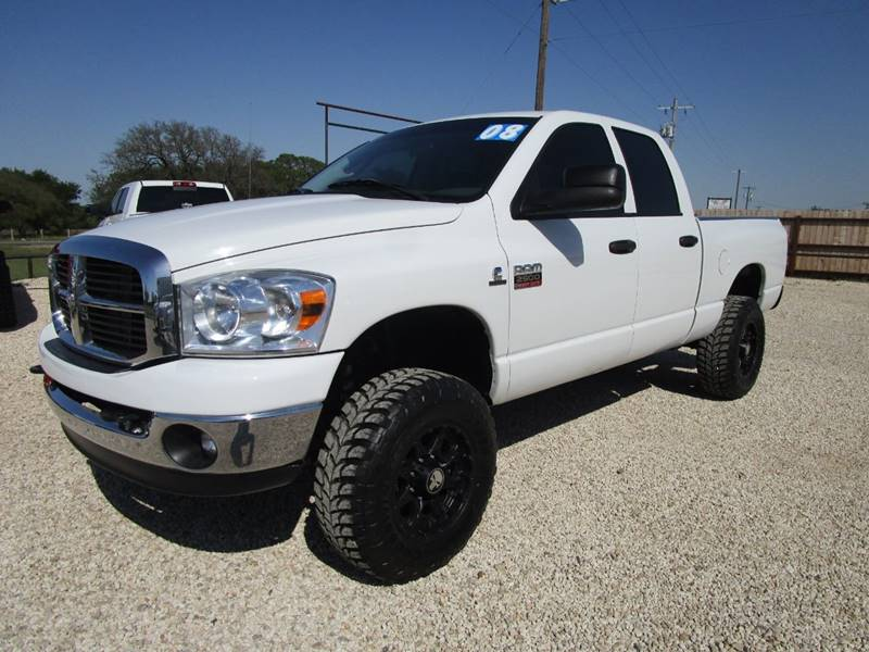 2008 Dodge Ram Pickup 2500 for sale at MCKAIN MOTORS in Valley Mills TX