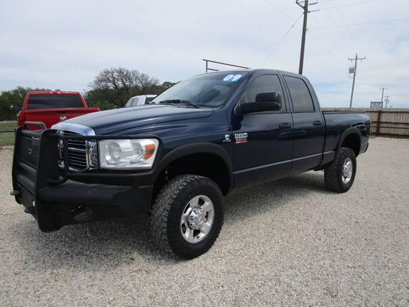2009 Dodge Ram Pickup 2500 for sale at MCKAIN MOTORS in Valley Mills TX