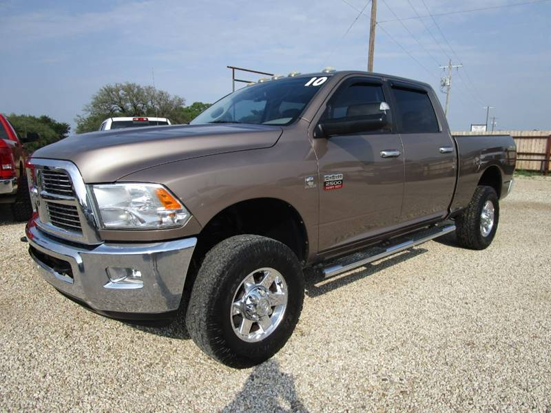 2010 Dodge Ram Pickup 2500 for sale at MCKAIN MOTORS in Valley Mills TX