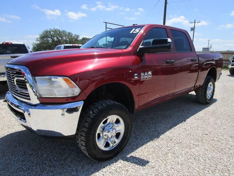 2015 RAM Ram Pickup 2500 for sale at MCKAIN MOTORS in Valley Mills TX