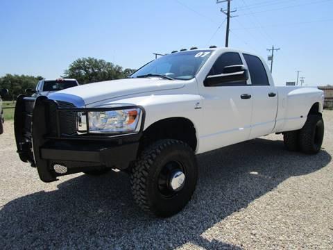 2007 Dodge Ram Pickup 3500 for sale at MCKAIN MOTORS in Valley Mills TX