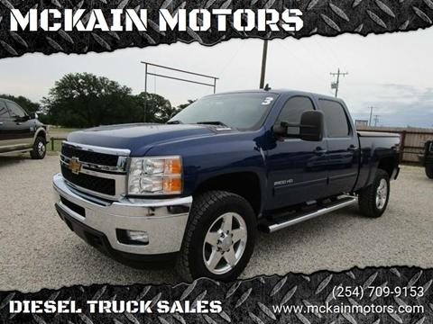 2013 Chevrolet Silverado 2500HD for sale at MCKAIN MOTORS in Valley Mills TX