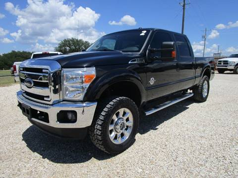 2012 Ford F-250 Super Duty for sale at MCKAIN MOTORS in Valley Mills TX