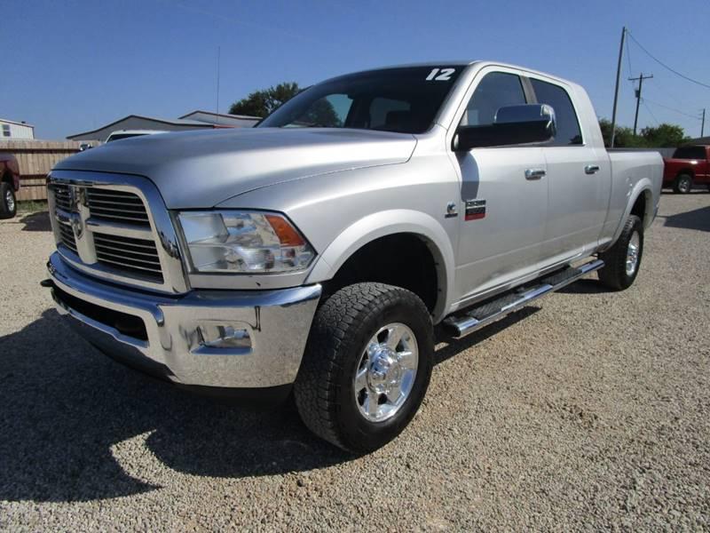 2012 RAM Ram Pickup 2500 for sale at MCKAIN MOTORS in Valley Mills TX