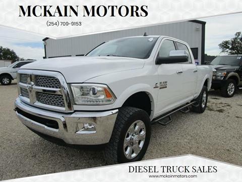 2014 RAM Ram Pickup 2500 for sale at MCKAIN MOTORS in Valley Mills TX
