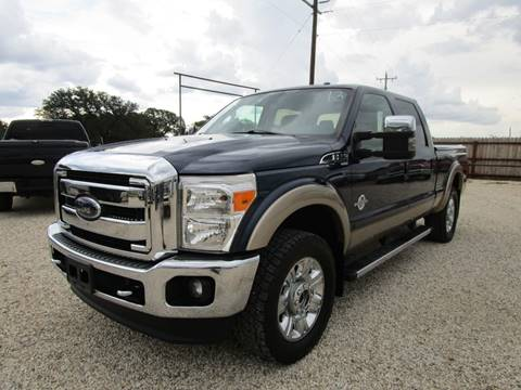 2013 Ford F-250 Super Duty for sale at MCKAIN MOTORS in Valley Mills TX