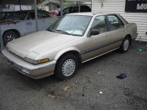 1988 honda accord 4 door sedan owner's manual original.